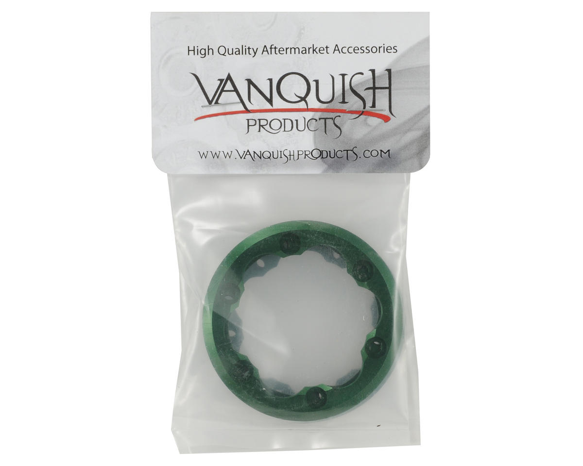 Vanquish Products 2.2 DH ProComp Beadlock Rings (Green) (2 Inside/2 Outside)