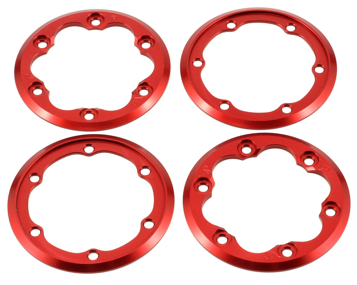 Vanquish Products 2.2 DH ProComp Beadlock Rings (Red) (2 Inside/2 Outside)