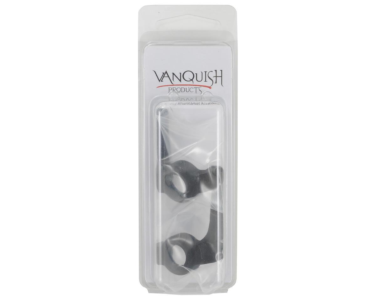 Vanquish Products Axial High Steer Steering Knuckle Set (Black)