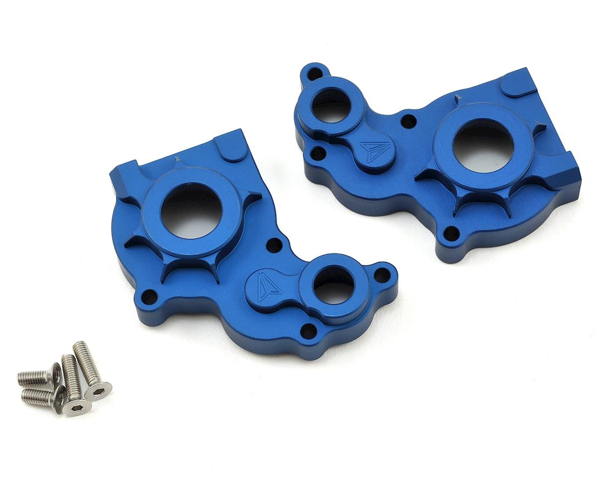 Vanquish Products SCX10 Aluminum Transmission Case (Blue)