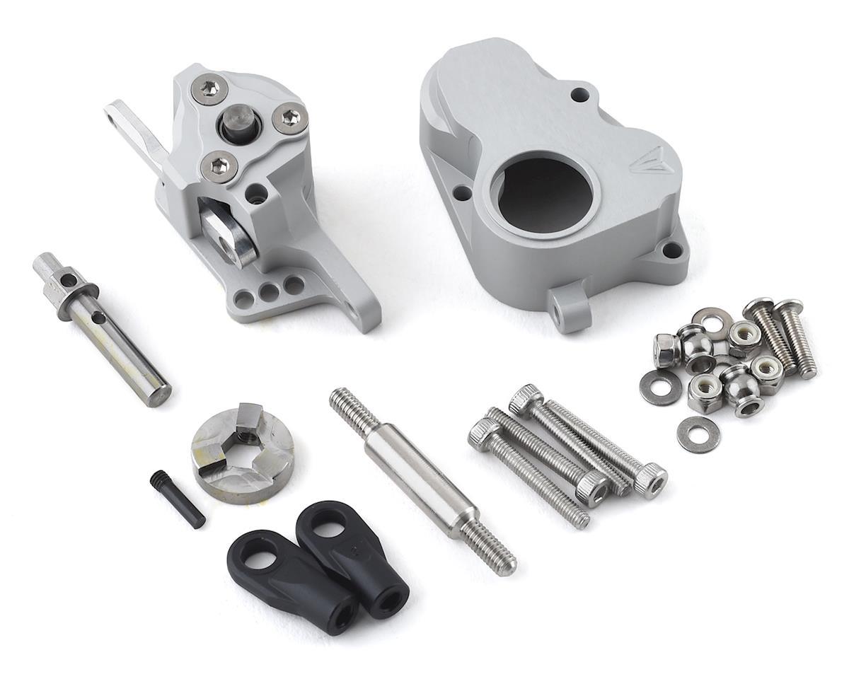 Vanquish Products VS410 Pro Aluminum VFD Hurtz Shifter 3-Position Dig (Silver)