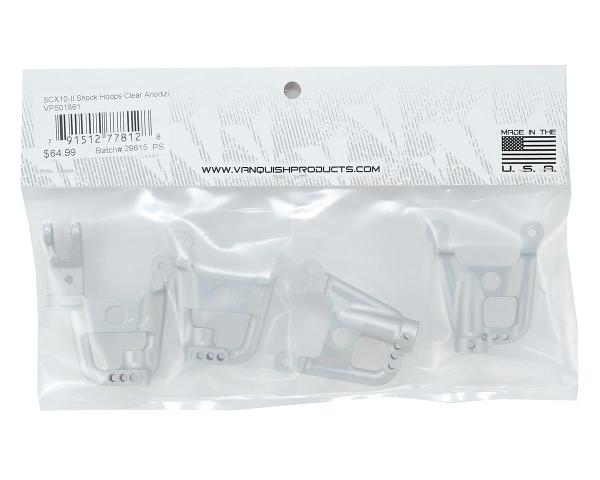 Vanquish Products SCX10 II Shock Hoops (Silver)