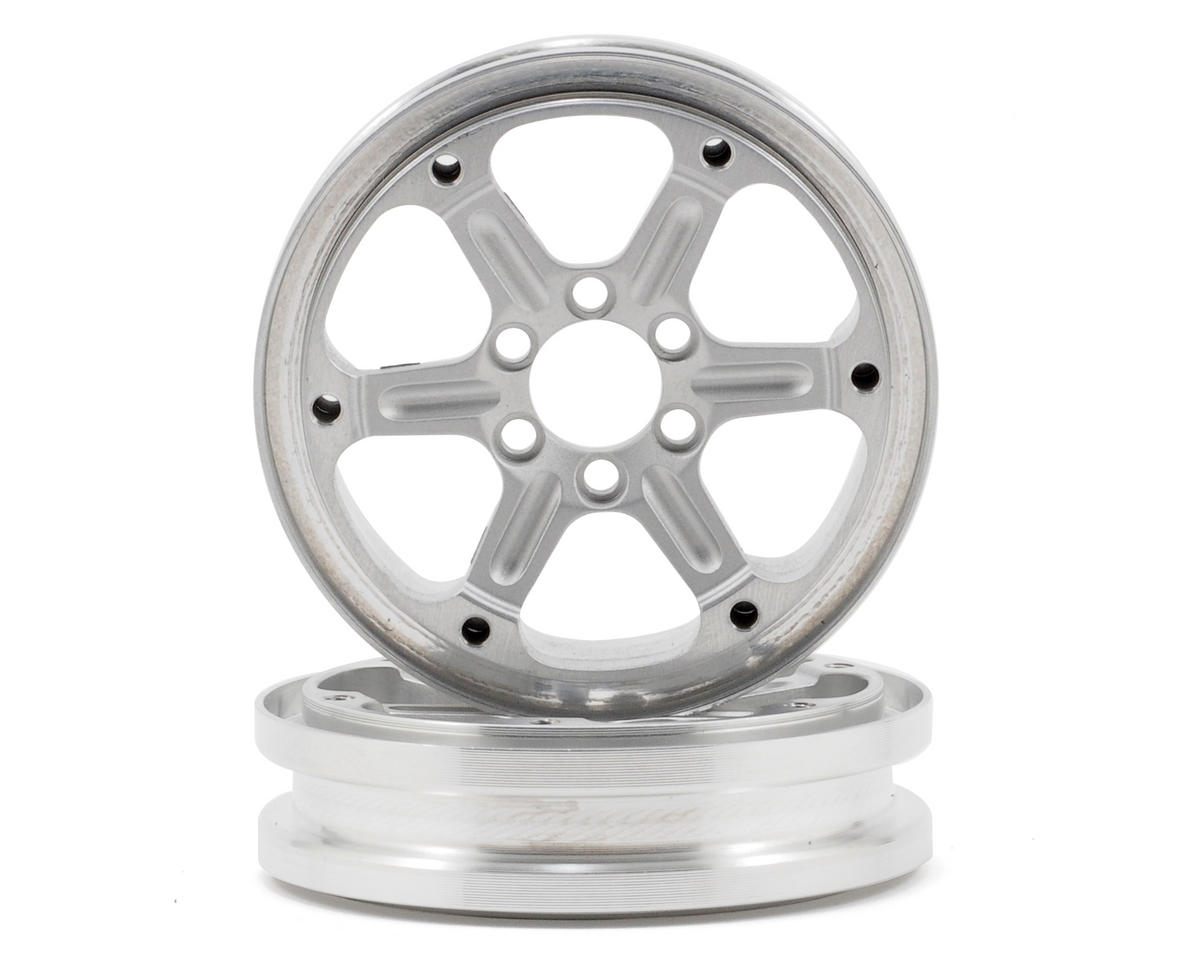 "Vanquish Products 2.2x.700"" SLW V1 Beadlock Wheels (2)"