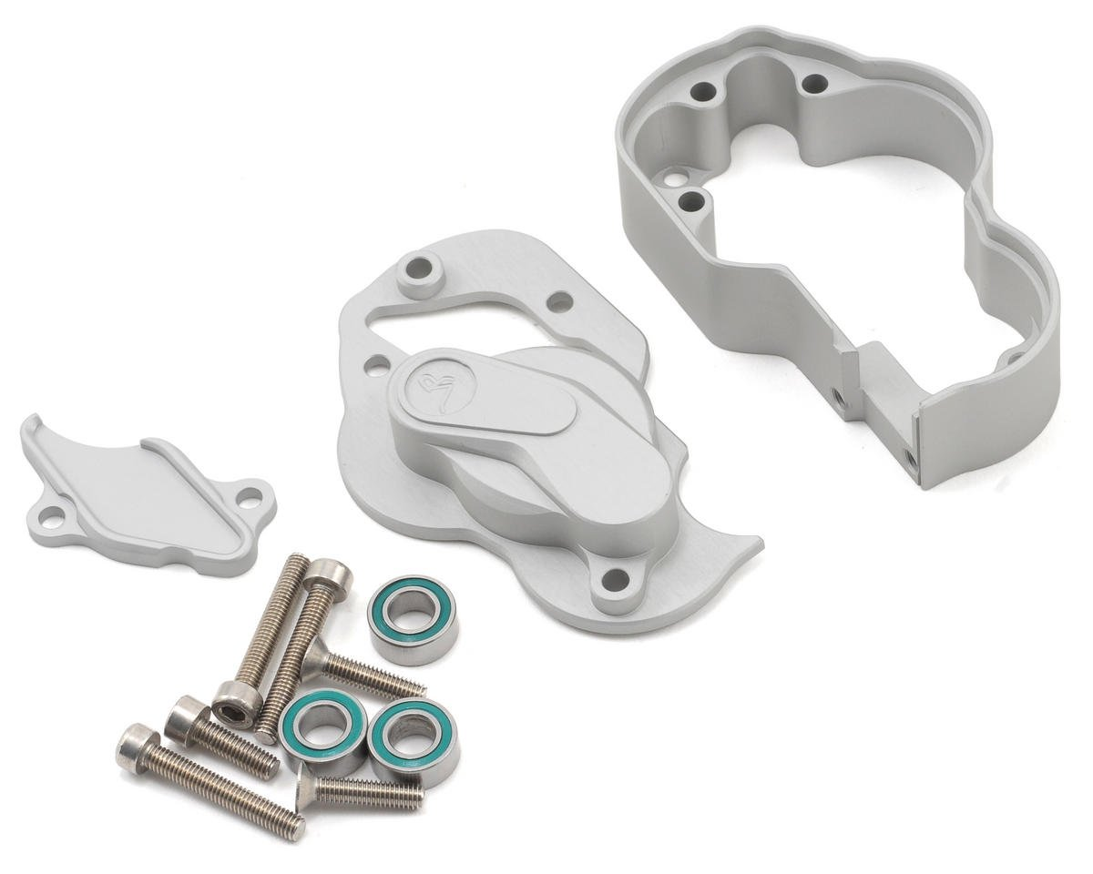 Vanquish Products Incision XR10 Transmission Case (Silver)
