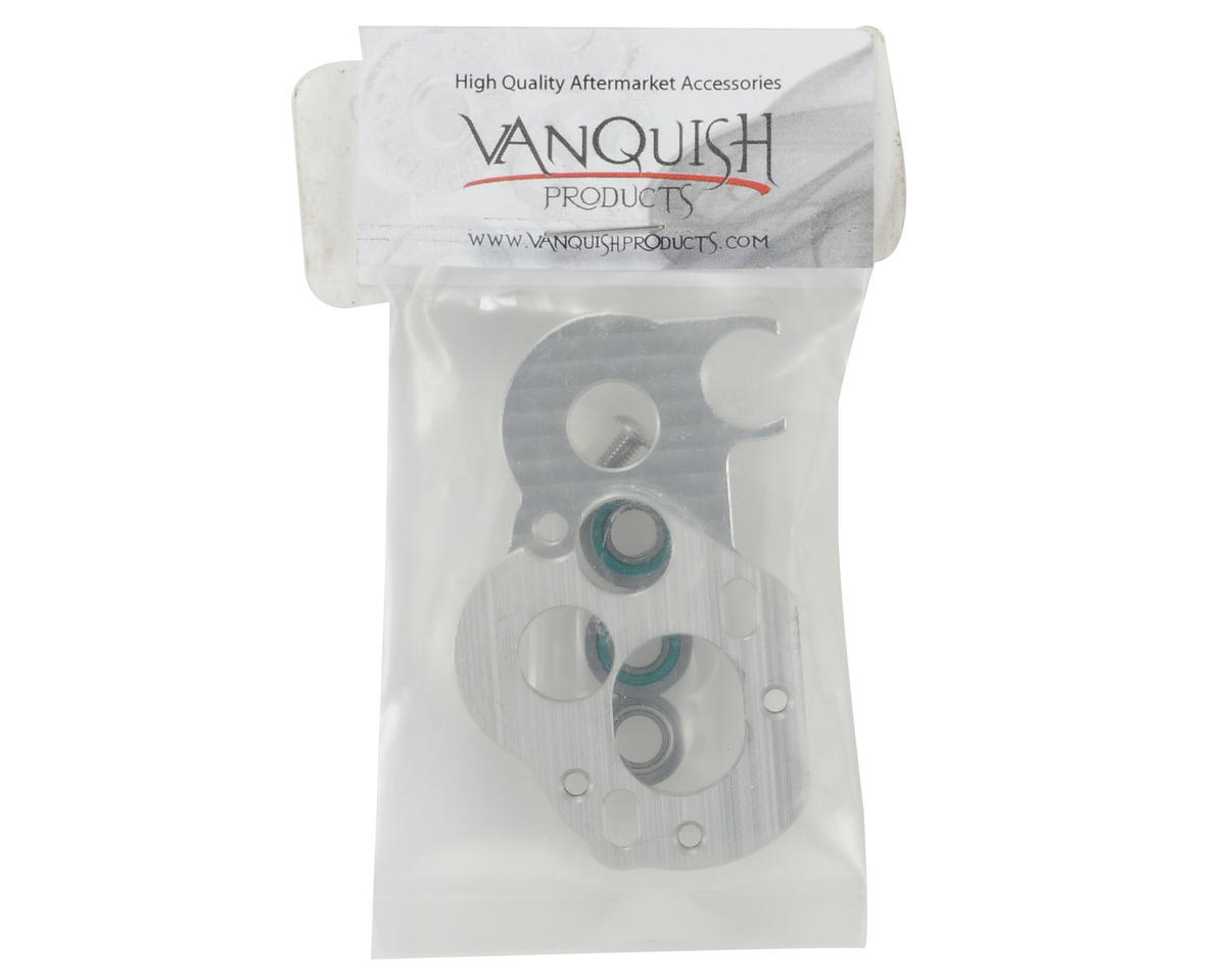 Vanquish Products XR10 Motor Plate (Silver)