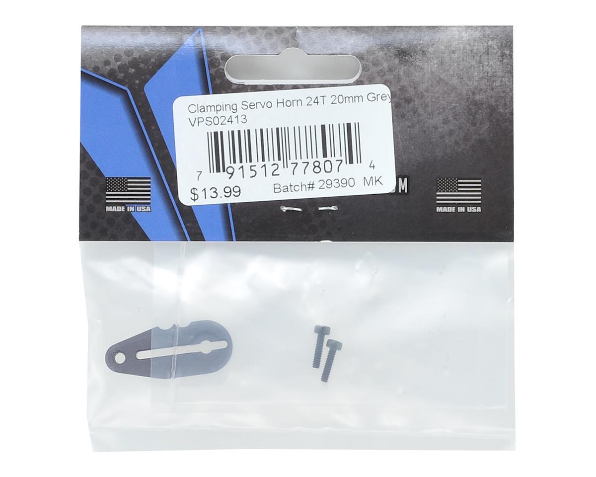 Vanquish Products Aluminum 20mm Clamping Servo Horn (24T-Hitec)