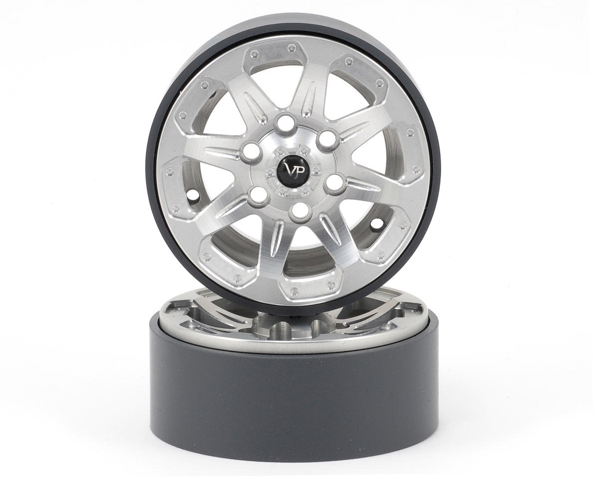 Vanquish Products 1.9 SSZ-9 Aluminum Beadlock Wheels (Raw) (2)