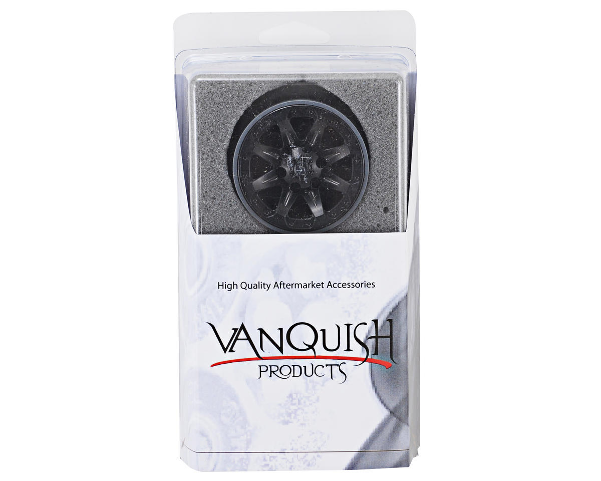 Vanquish Products 1.9 SSZ-9 Aluminum Beadlock Wheels (Black) (2)