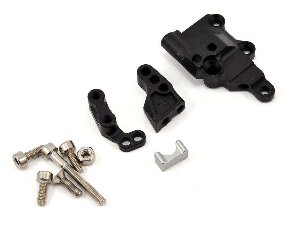 Vanquish Products XR10 Front Link Mount (Black/Black)
