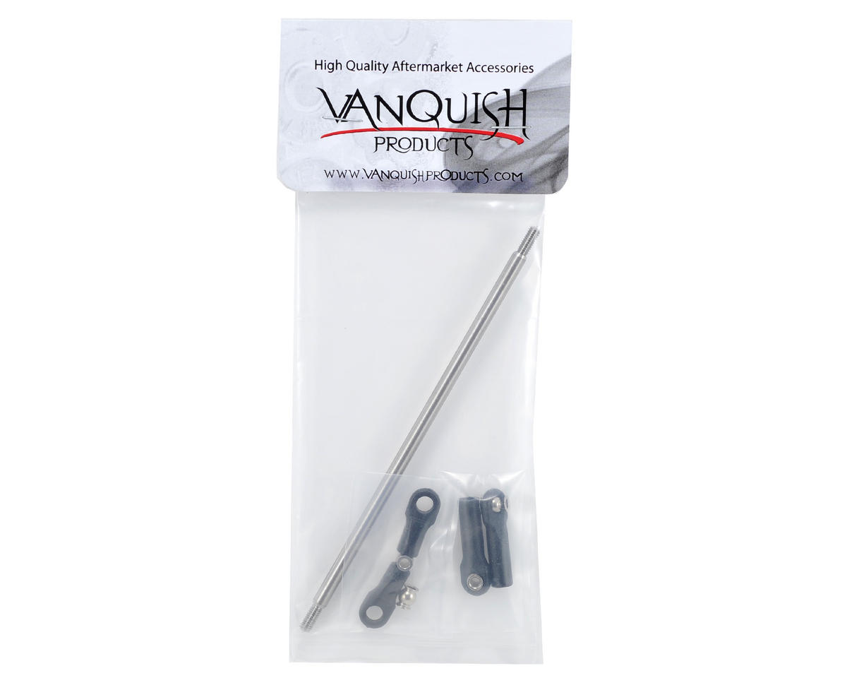 Vanquish Products XR-10 Straight Titanium Tie-Rod
