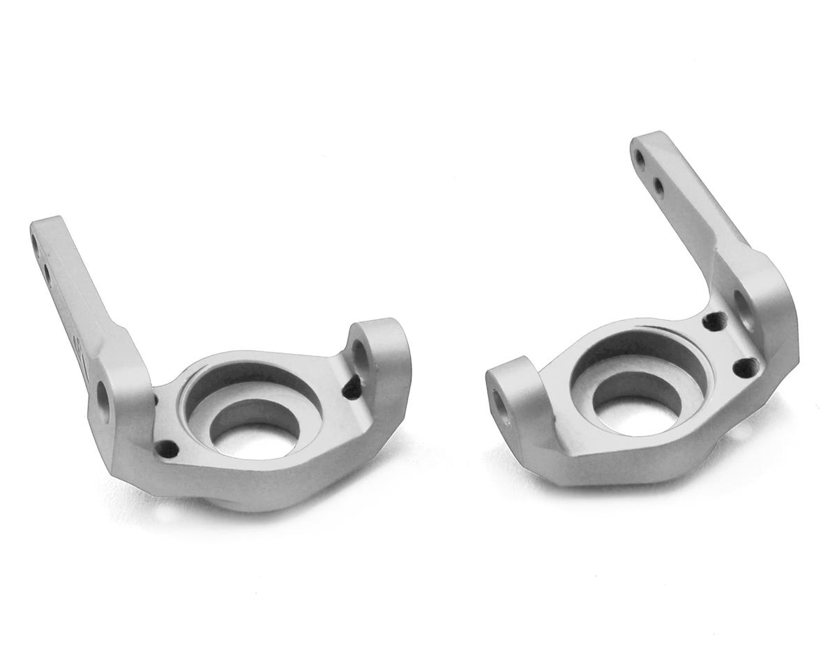 Vanquish Products Axial SCX10 8° Knuckles (Silver) (2)
