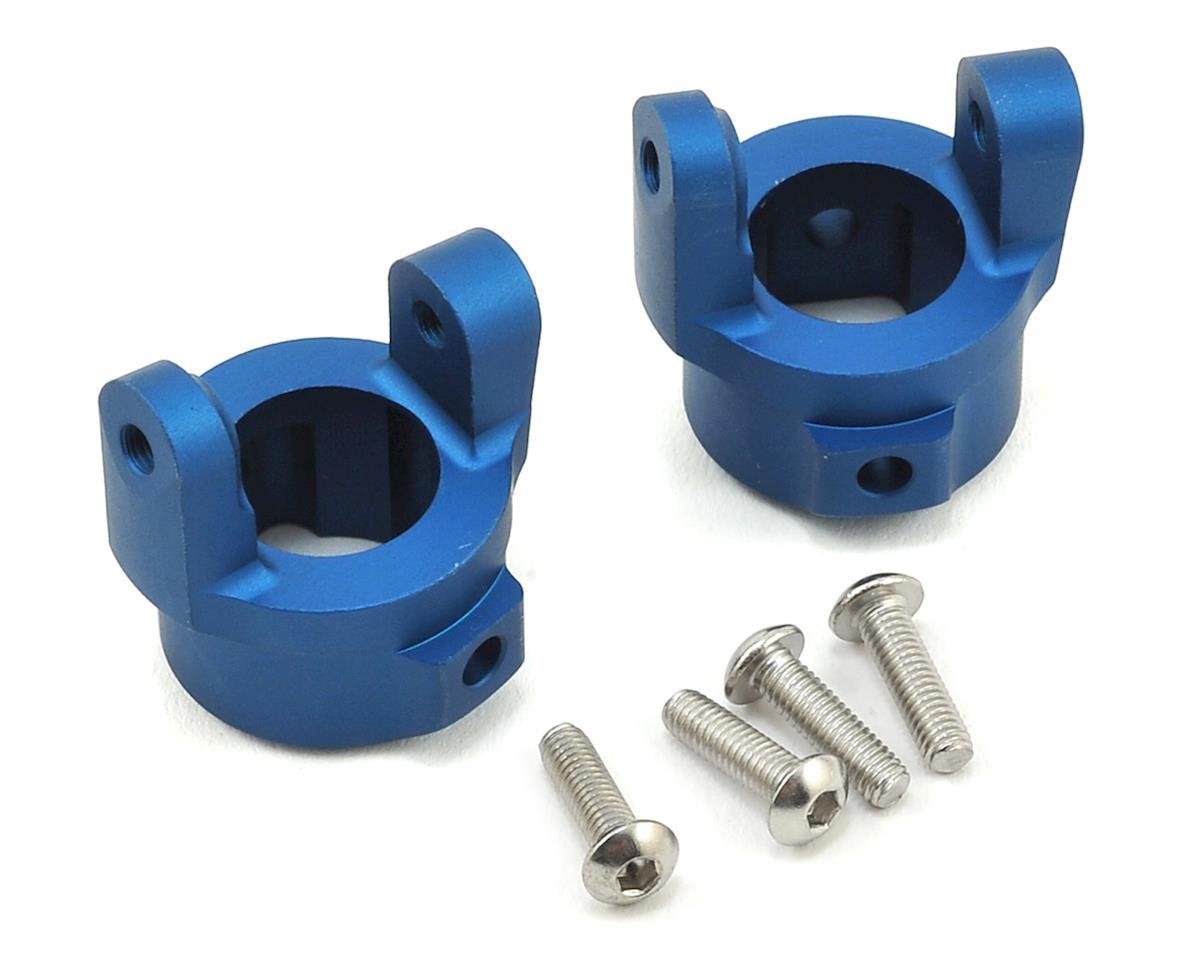 Vanquish Products Axial SCX10 8° C-Hub Set (Blue) (2)