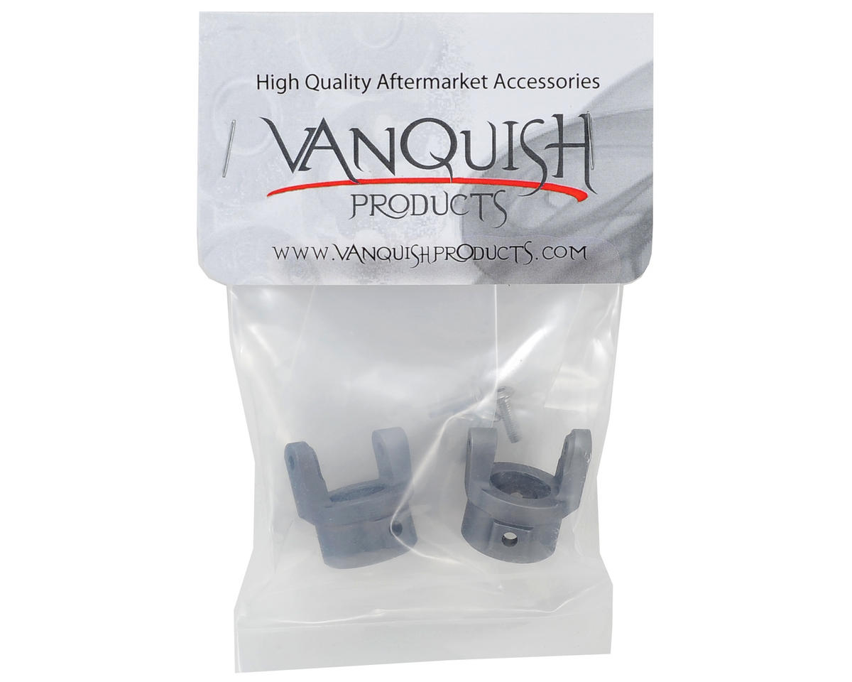 Vanquish Products SCX10 8° C-Hub Set (Grey) (2)
