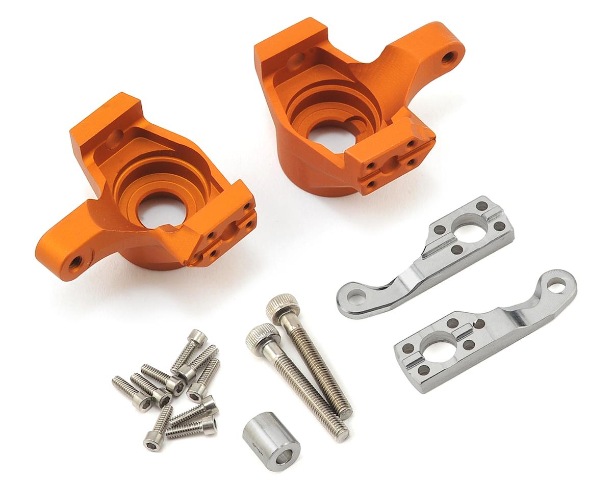 Vanquish Products Axial SCX10 II Steering Knuckles (Orange)