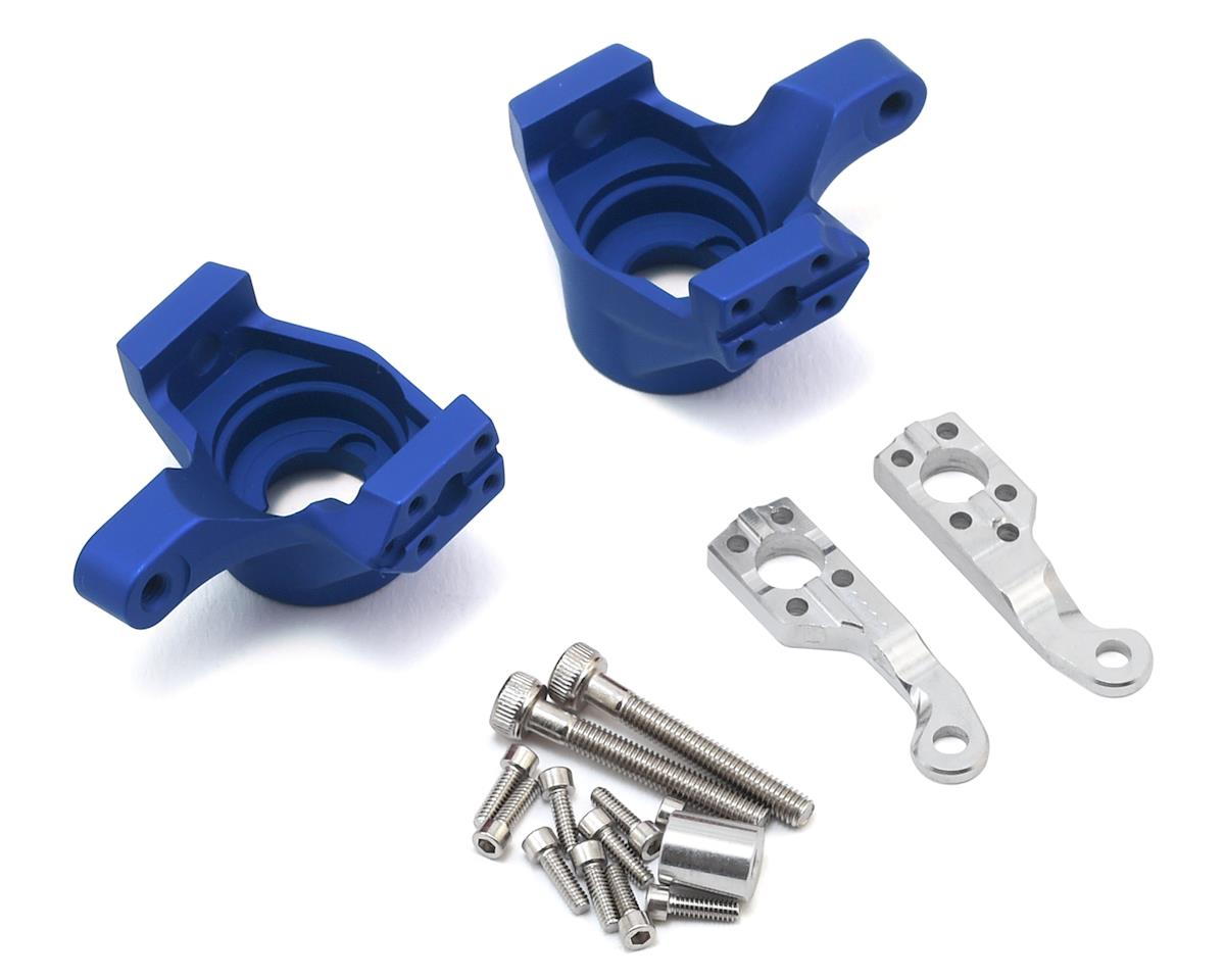 Vanquish Products Axial SCX10 II Knuckles (Blue)