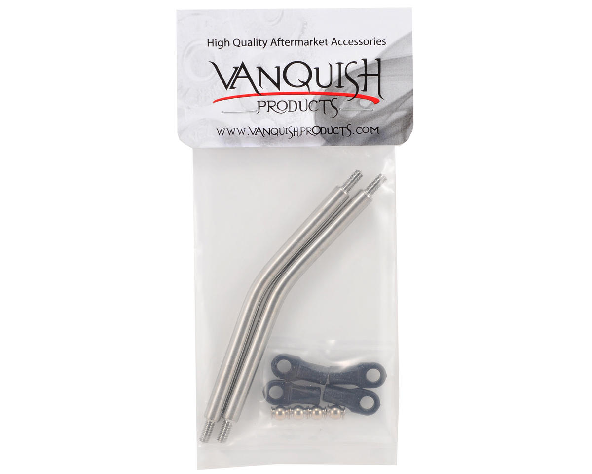 "Vanquish Products XR10 1/4"" Titanium Front Lower Link Set (2)"