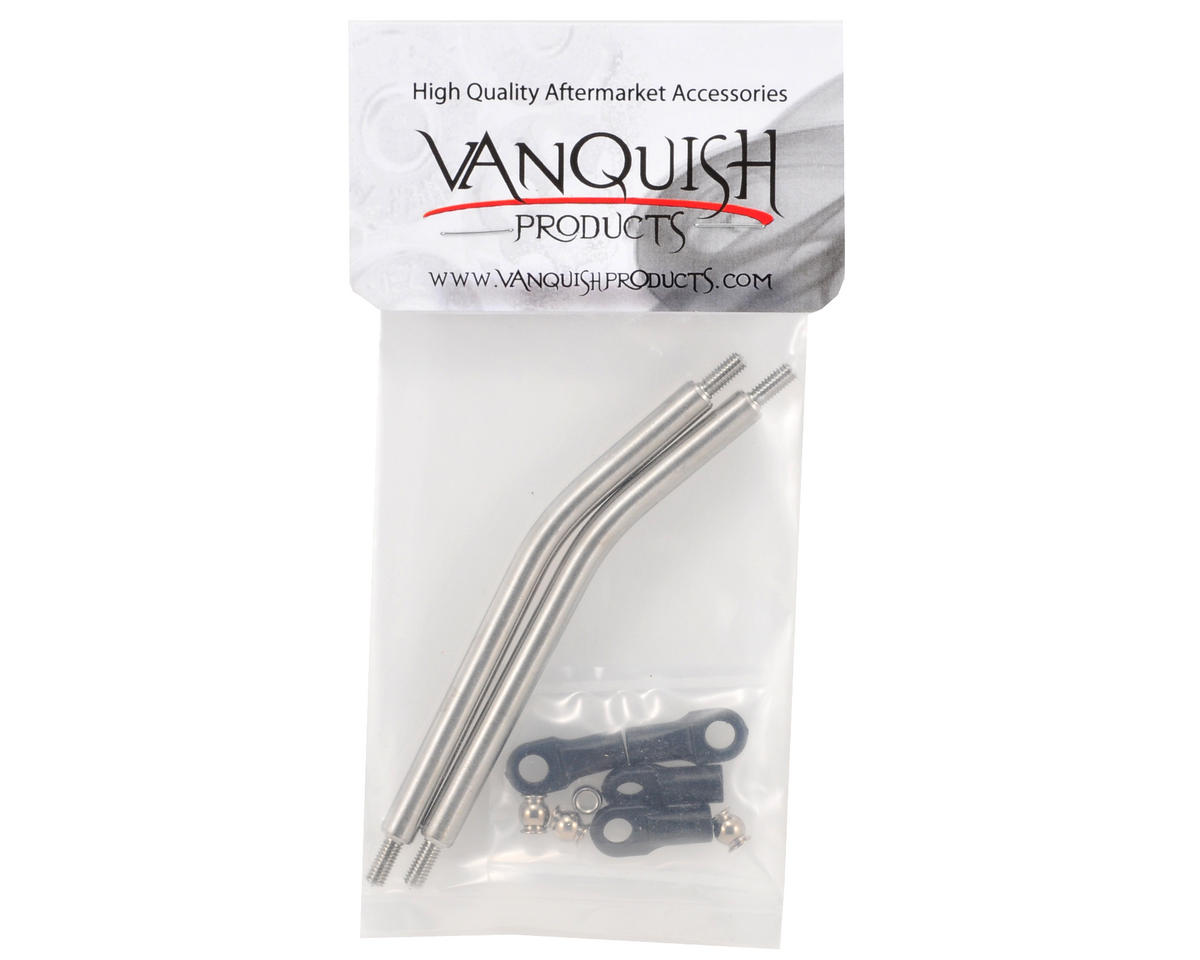 "Vanquish Products Vanquish Product XR10 1/4"" Titanium Upper Link Set (2)"