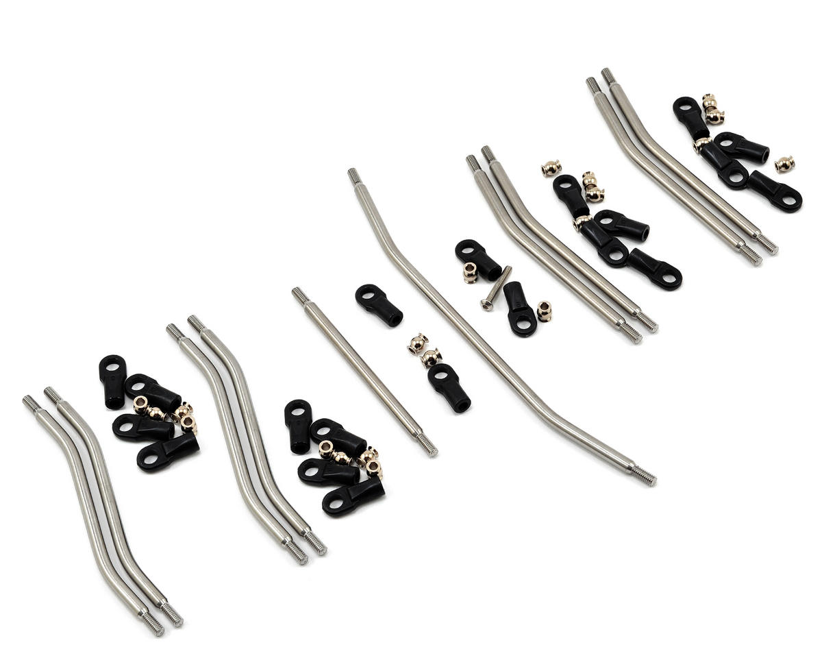 Wraith 3/16 Titanium Linkage Set (10) by Vanquish Products