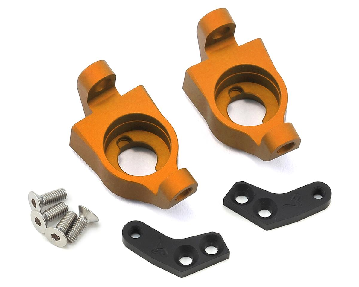 Vanquish Products Wraith Steering Knuckle Set (Orange) (2)