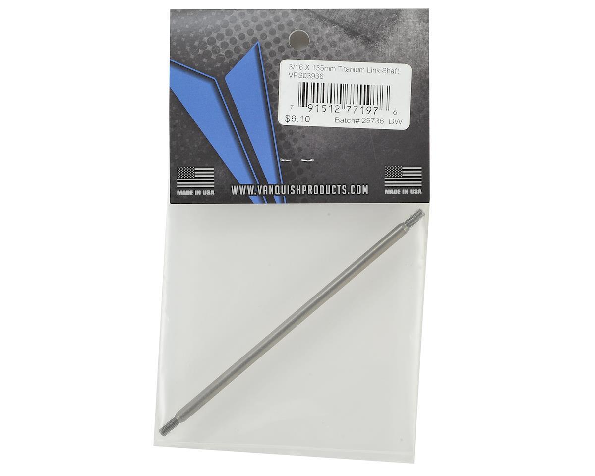 "Vanquish Products Titanium 3/16"" Link Shaft (135mm)"