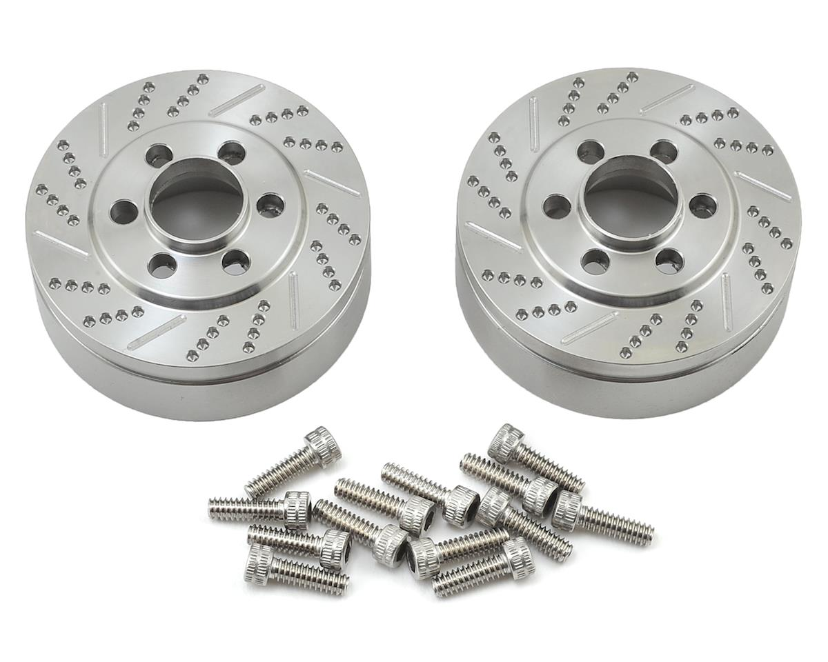 Vanquish Products 2.2 Stainless Steel Brake Disc Weights (2) (Axial RR10 Bomber)