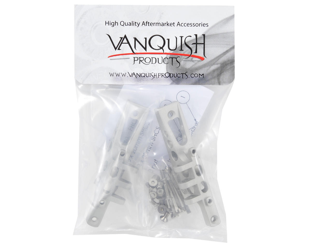 Vanquish Products Wraith/Yeti Aluminum HD Axle Truss Set (Silver)