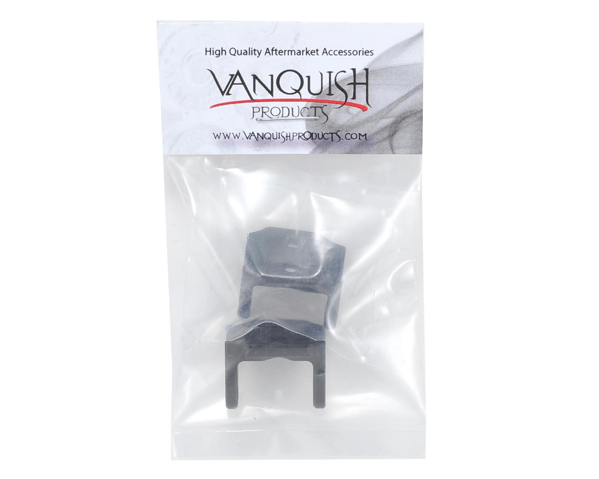 AX-10 Lower Shock Link Mount Set (Black) (2) by Vanquish Products