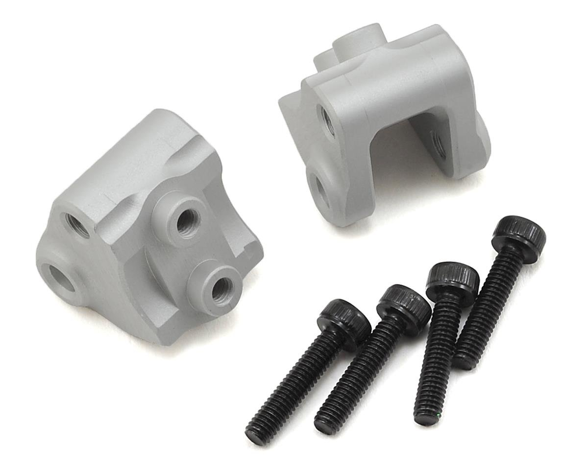 SCX10 II Lower Link/Shock Mounts (2) (Silver) by Vanquish Products
