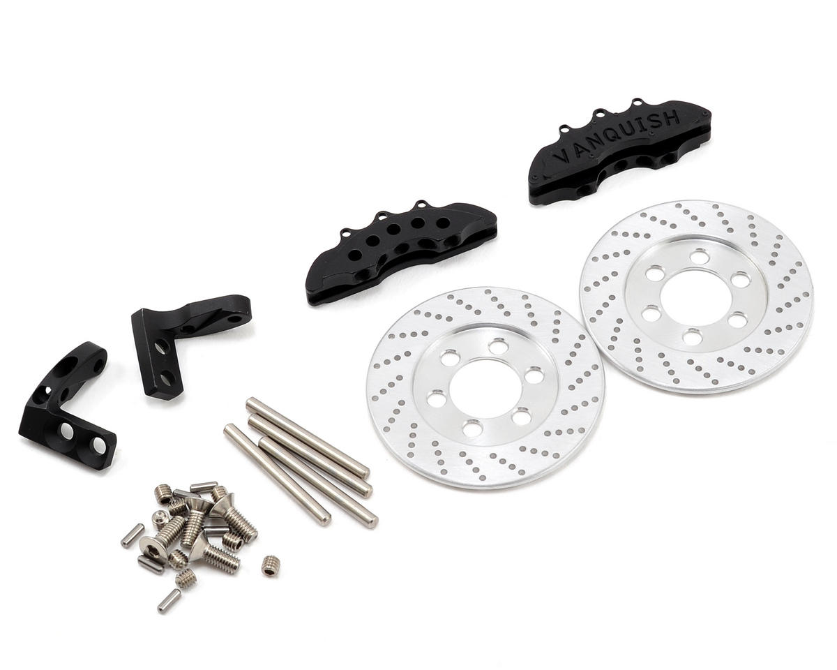 Vanquish Products Wraith Front Disc Brake Kit (Black)
