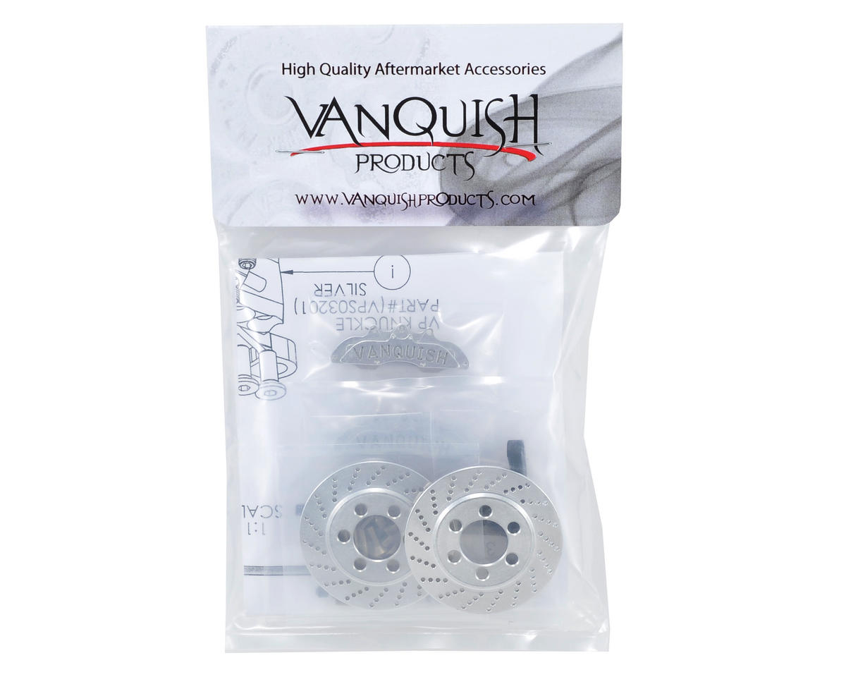 Vanquish Products Wraith Front Disc Brake Kit (Silver)
