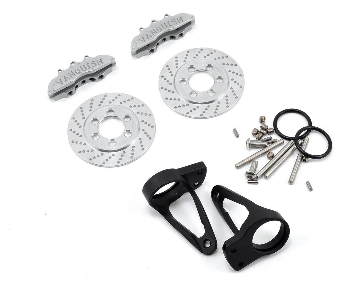 Vanquish Products Wraith Rear Disc Brake Kit (Silver)
