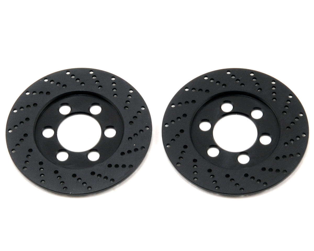 Vanquish Products SLW Brake Rotor Set (2) (Black)