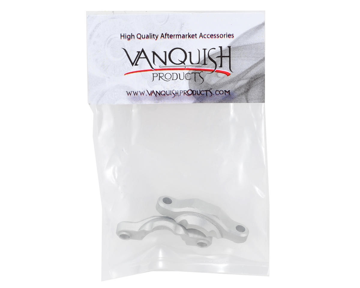 Wraith Bearing Caps (Silver) (2) by Vanquish Products