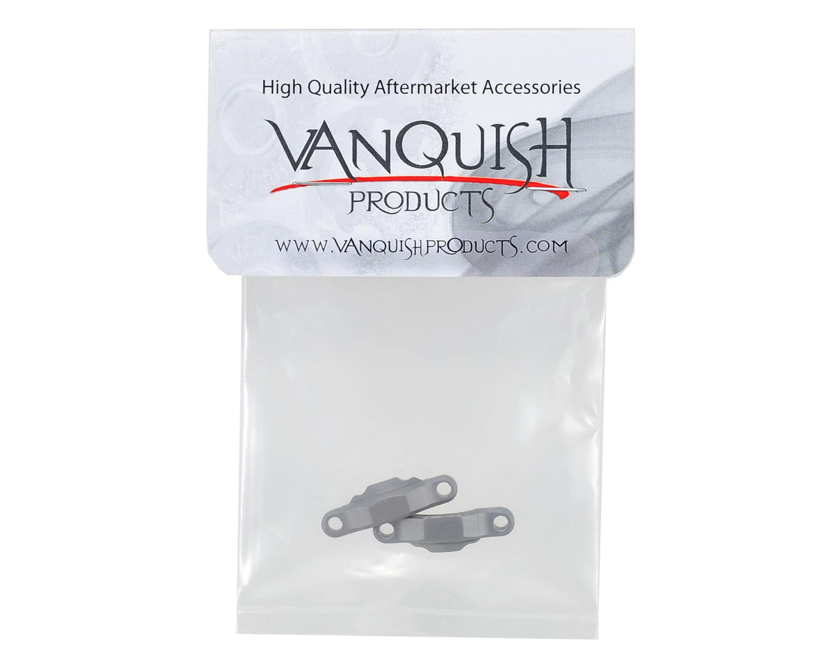Vanquish Products Wraith Bearing Caps (2) (Grey)