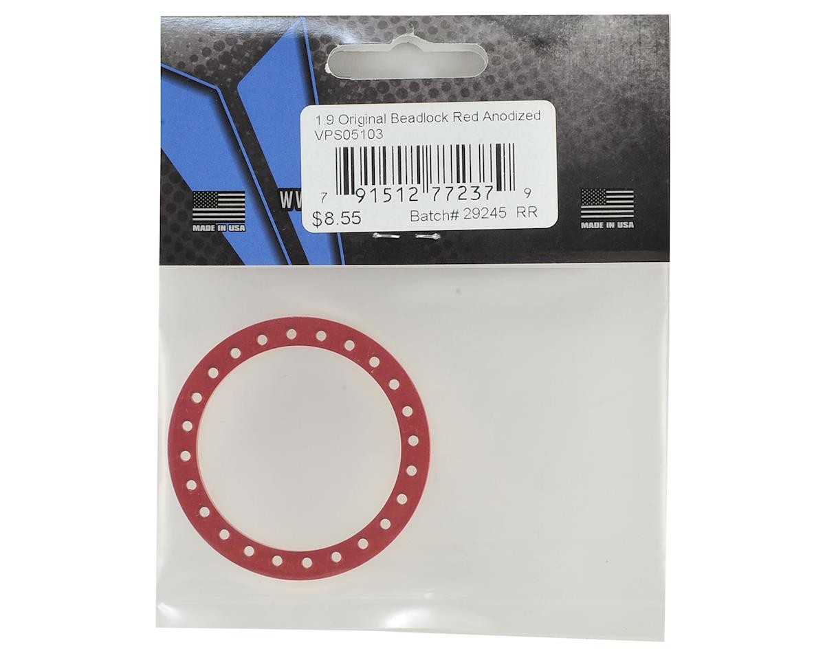 "Vanquish Products Original 1.9"" Beadlock (Red)"