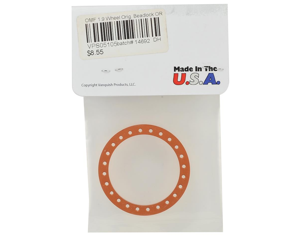 "Vanquish Products Original 1.9""  Beadlock (Orange)"