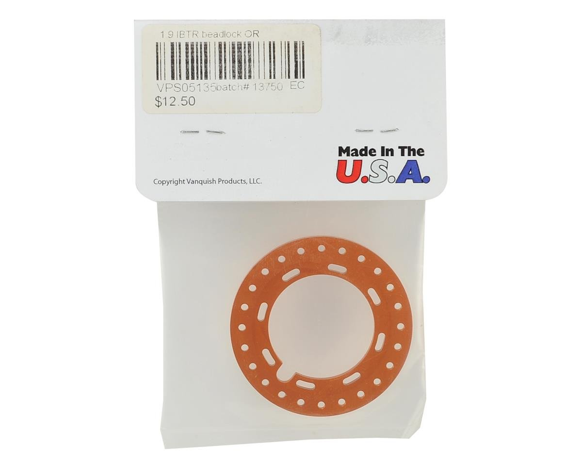 "Vanquish Products IBTR 1.9"" Beadlock (Orange)"