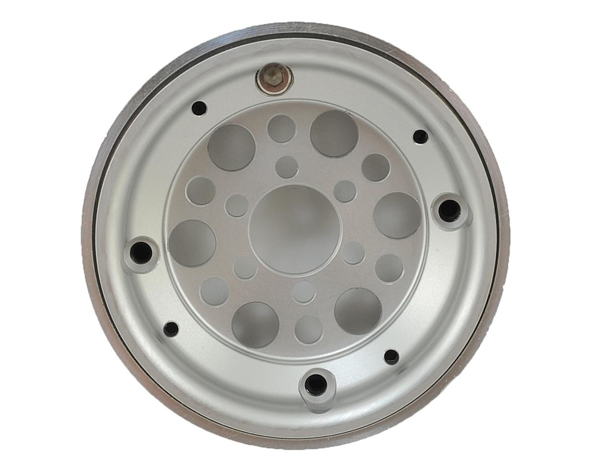 """Vanquish Products OMF Outlaw II 1.9"""" Beadlock Wheels (2) (Clear/Black)"""