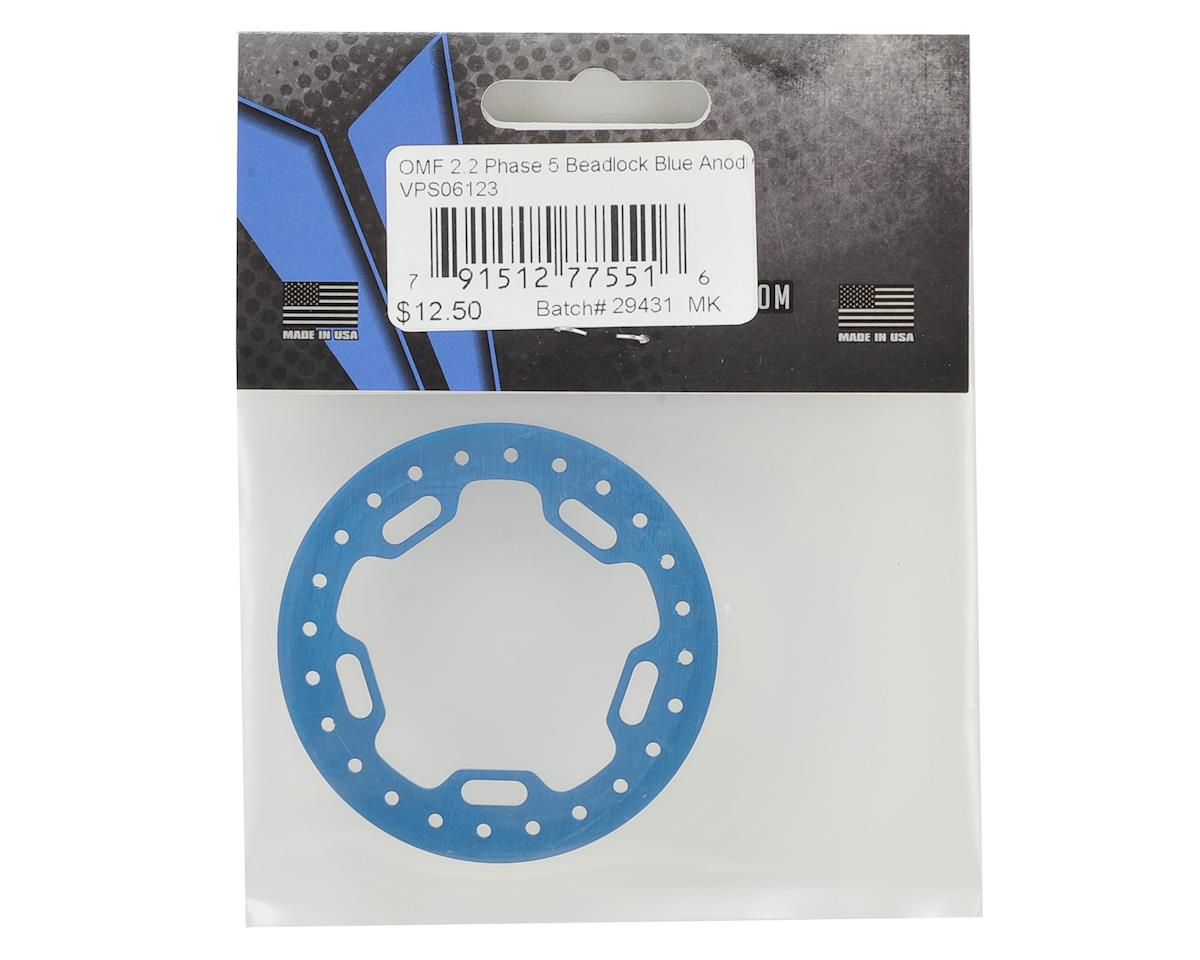 "Vanquish Products OMF 2.2"" Phase 5 Beadlock (Blue)"