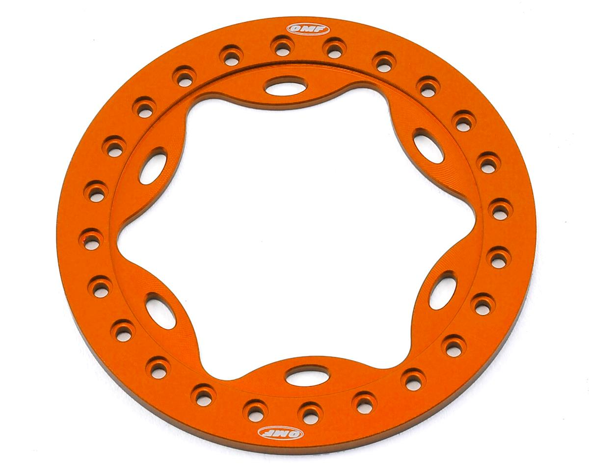 "Vanquish Products OMF 2.2"" Scallop Beadlock (Orange)"