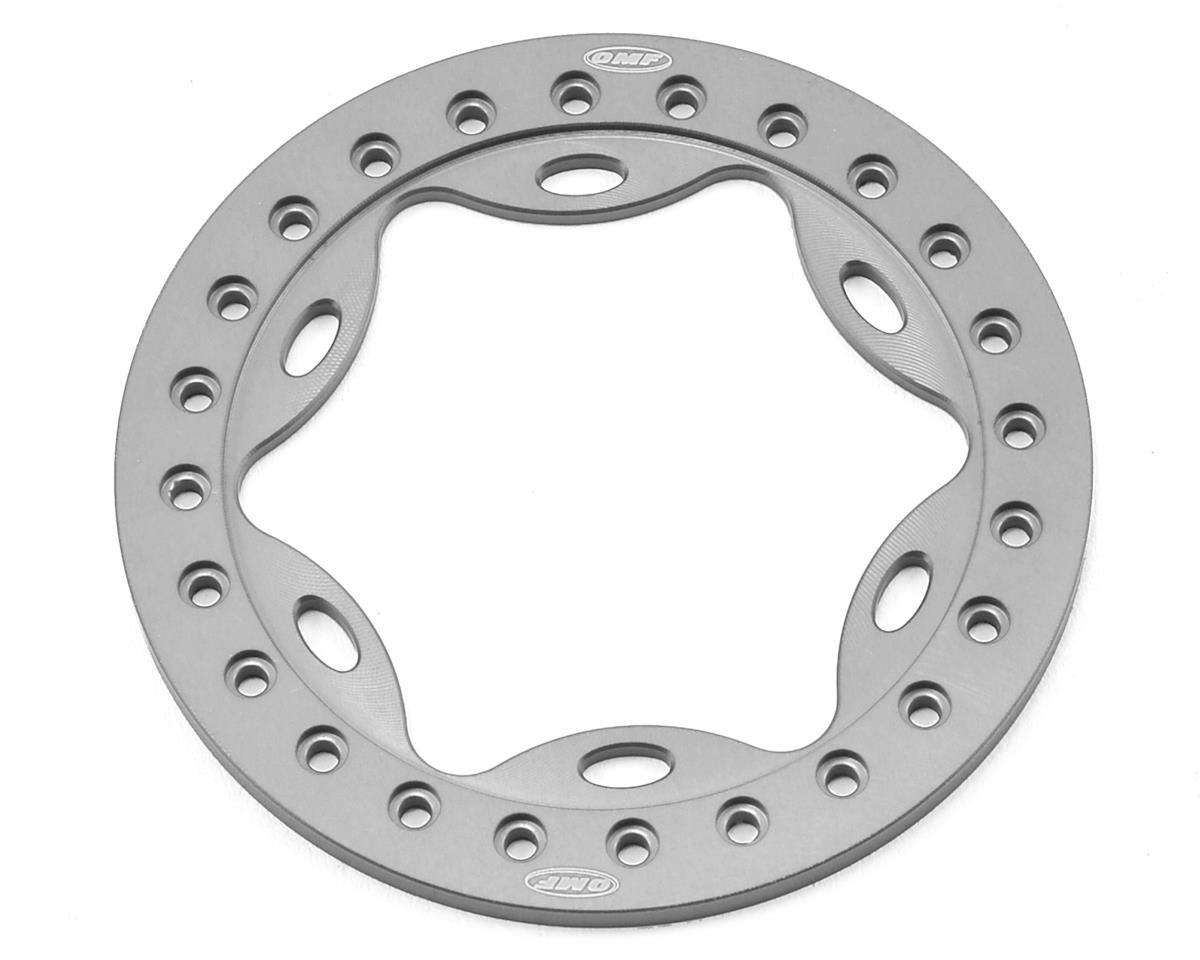 "Vanquish Products OMF 2.2"" Scallop Beadlock (Silver)"
