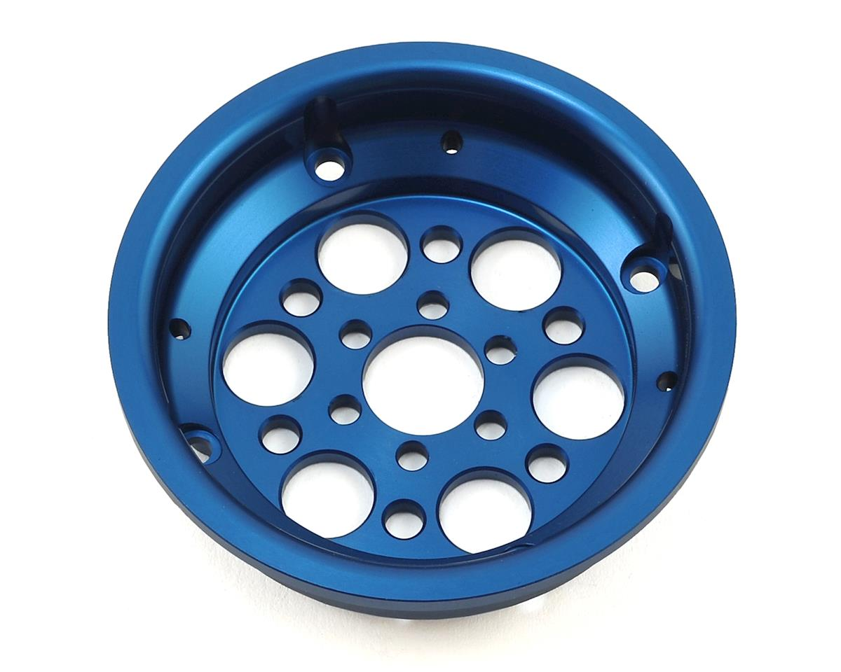 """Vanquish Products OMF 2.2"""" Outlaw II Rear Ring (Blue)"""