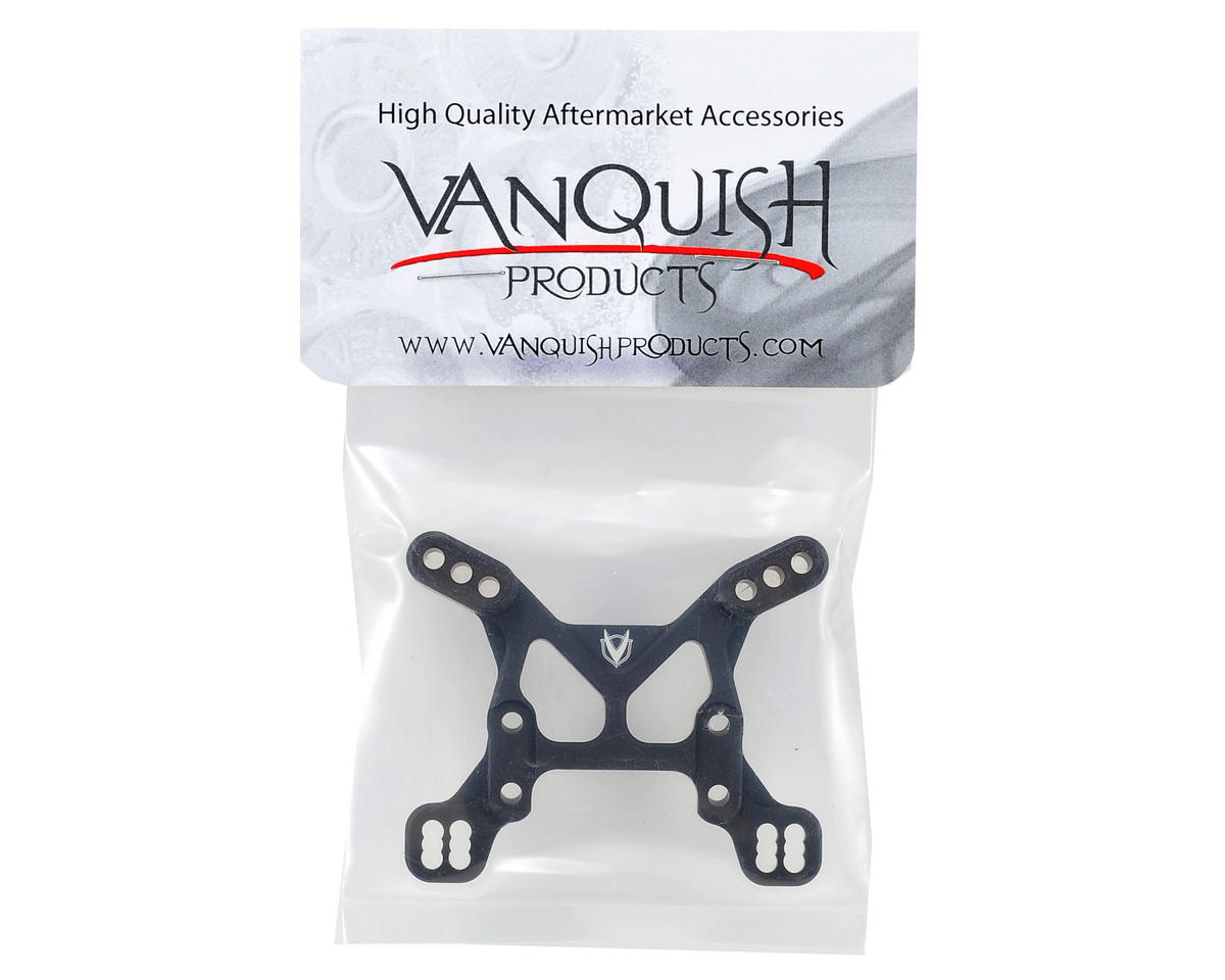 Vanquish Products Aluminum Front Shock Tower (Black)