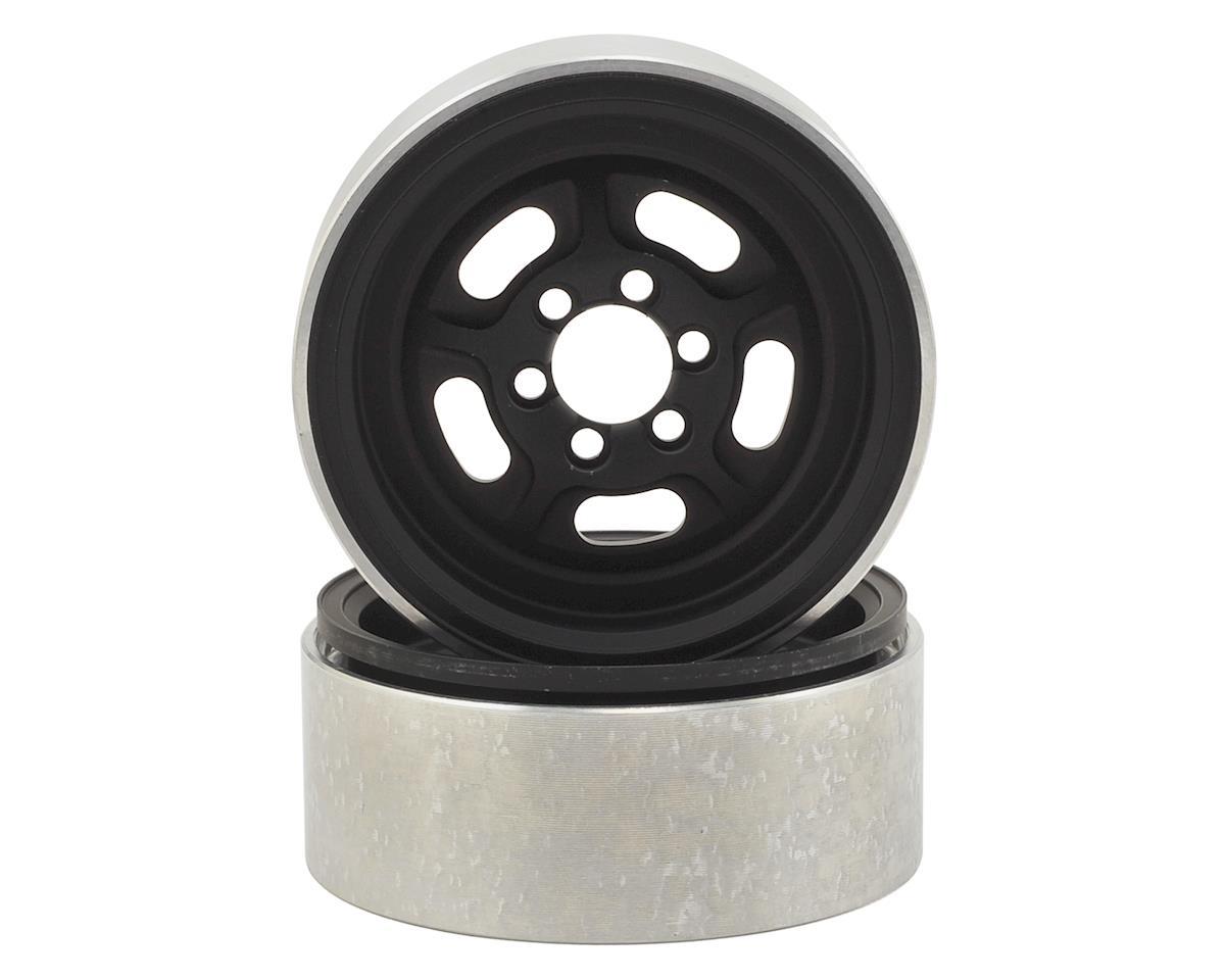 SHR 2.2 Vintage Wheel (Black) (2) by Vanquish Products
