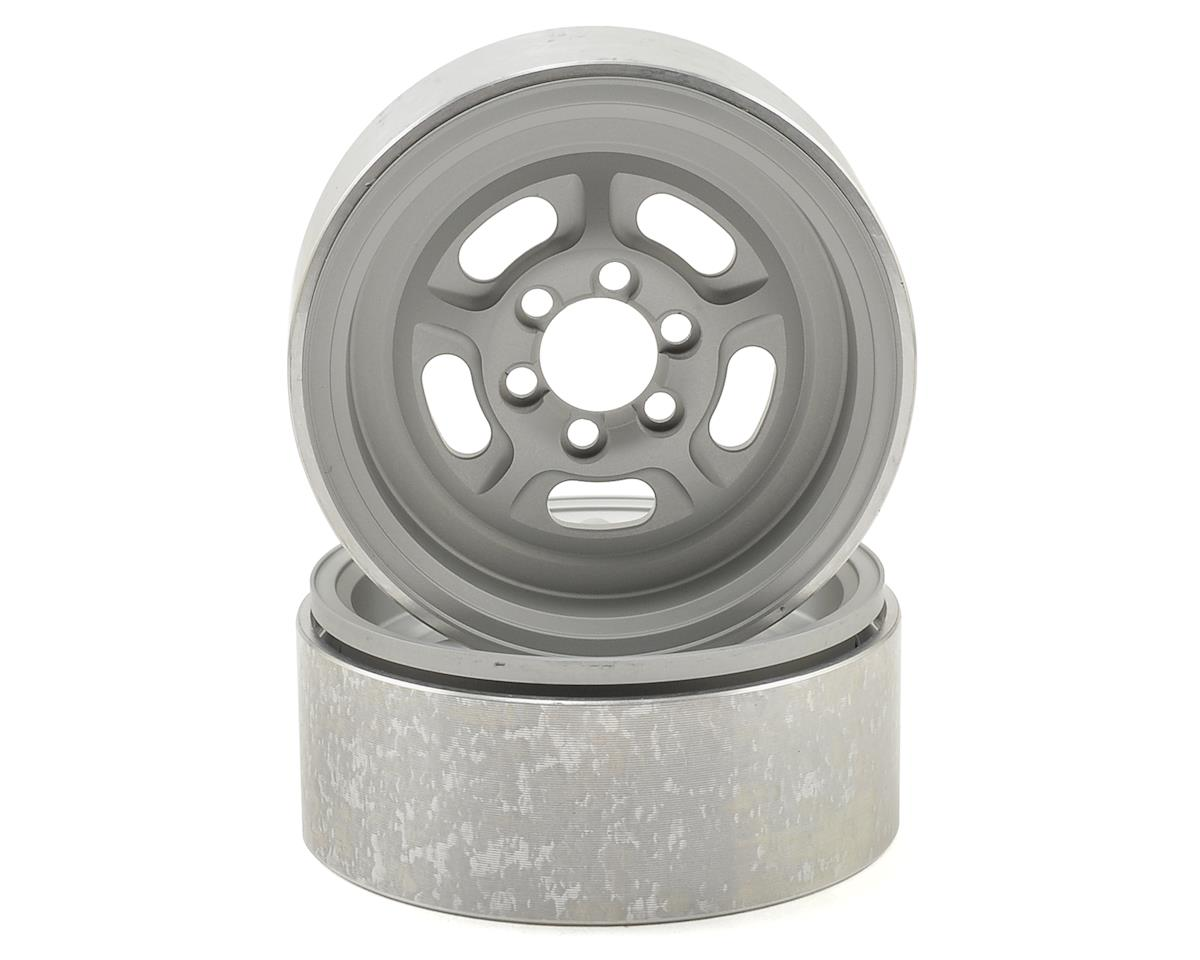 Vanquish Products SHR 2.2 Vintage Wheel (Silver) (2)