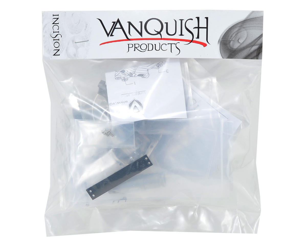 "Vanquish Products ""Currie Rockjock"" SCX10 Front Axle Assembly (Grey)"