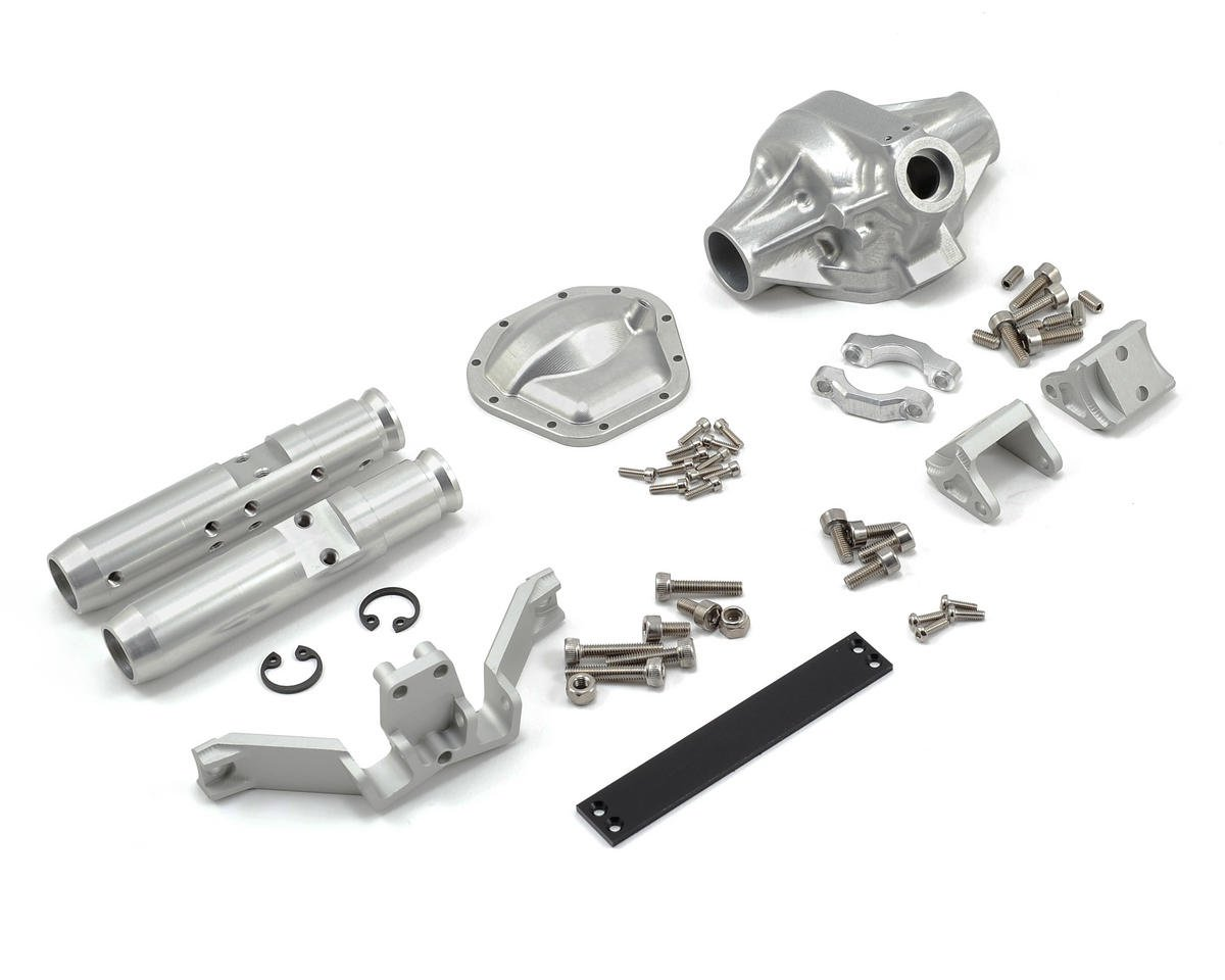 "Vanquish Products ""Currie Rockjock"" SCX10 Rear Axle Assembly (Grey)"