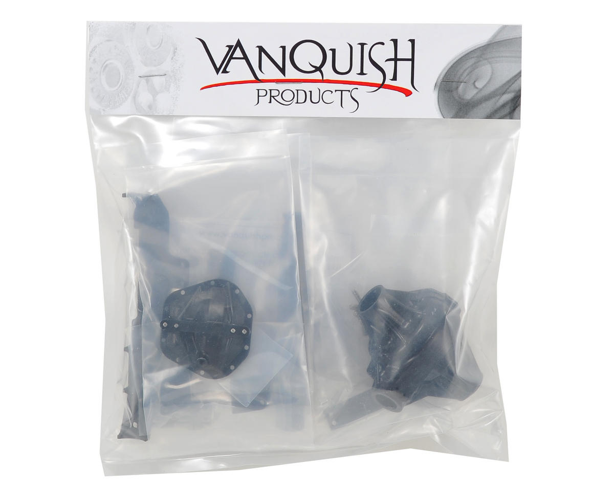 "Vanquish Products ""Currie Rockjock"" Wraith Front Axle (Black)"