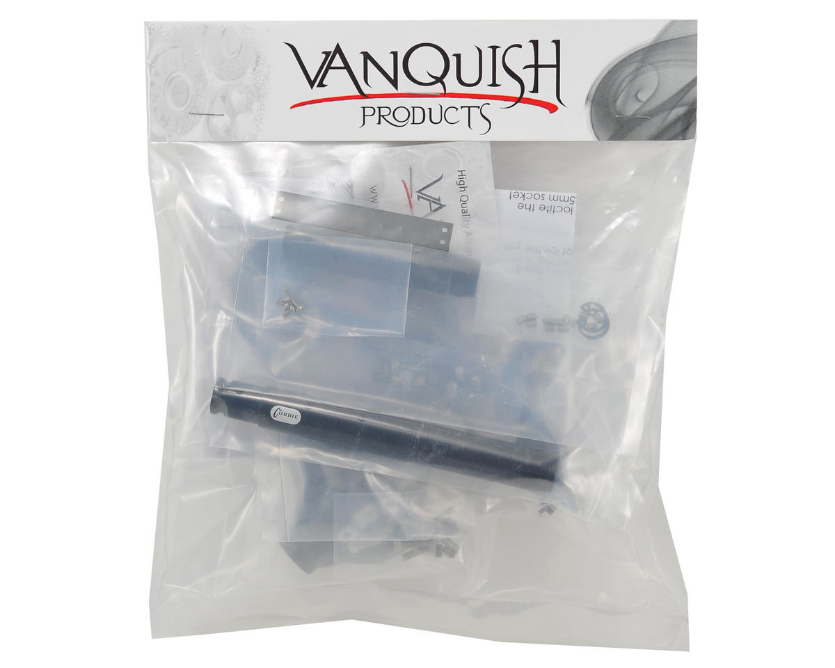 "Vanquish Products ""Currie Rockjock"" Wraith Rear Axle (Black)"