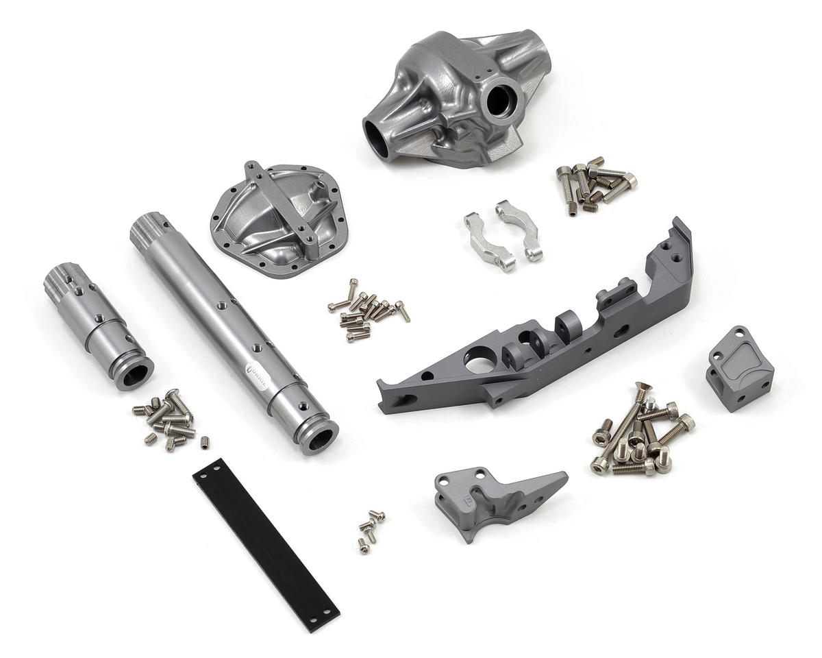 "Vanquish Products ""Currie Rockjock"" Wraith Front Axle (Grey)"